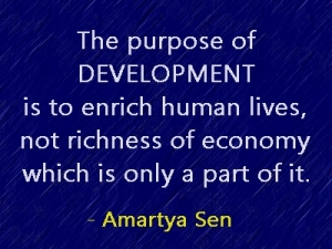 development Amartya Sen