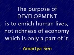 development Amartya Sen