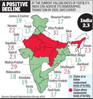 fertility rate map