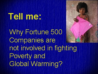 fortune 500 poverty and CC