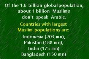 global Muslim population