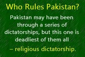 Pak religious dictatorship