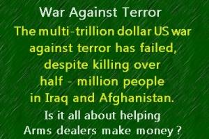 US war on terror failed