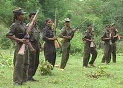 Heavily Armed and Trained Naxals