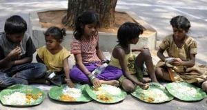 Under nourishment is a serious problem in India