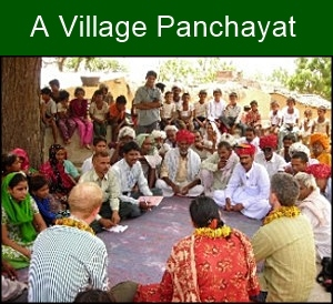 A village Panchayat is the center of grass-root democracy.