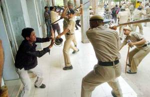 Colonial Police of Free India!