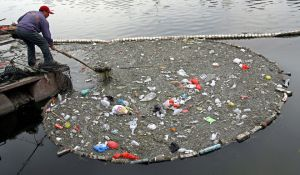 A Polluted River in China