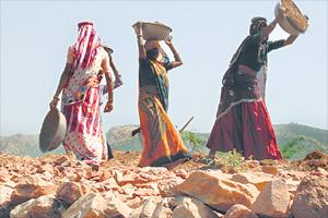 MNREGA workers