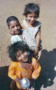 Rich smile of Poor Kids