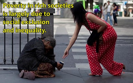 poverty in rich countries social exclusion