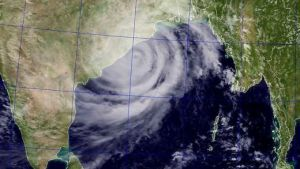 Phailin Hitting the East coast