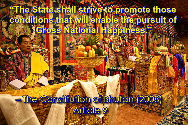 GNH and bhutan constitution