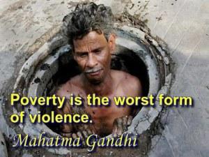 poverty violence