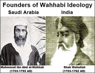 Founders of Wahhabism - Wahhab and Wali Ullah