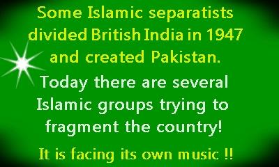 pak islamic separatist groups