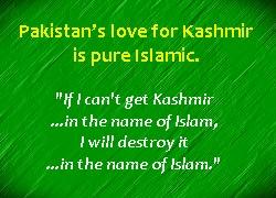 pak love for kashmir