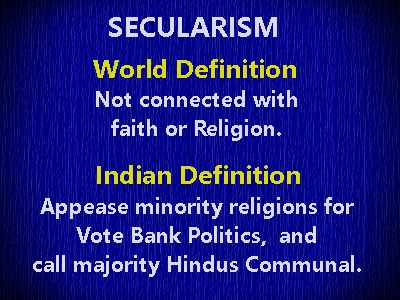 secularism definition in india