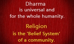 dharma and religion