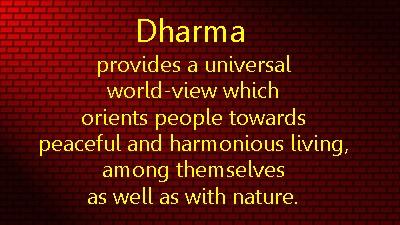 dharma def