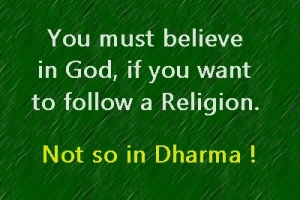 god religions and dharma