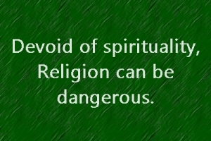 religion can be dangerous