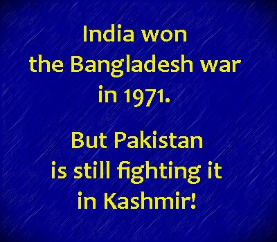 india won Bdesh war in 1971 but