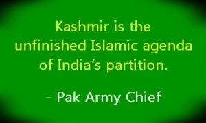 kash unfinished agenda army chief