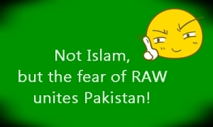 RAW unites pakistan
