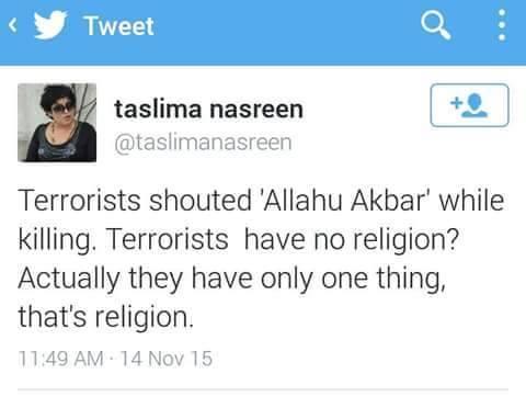 terror religion