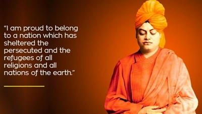 Hindus are tolerant people.