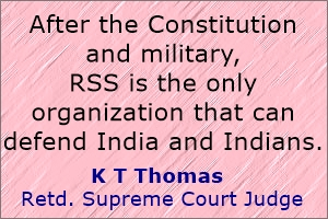 RSS alone can defend India