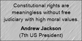 Constitutional rights andrew jackson