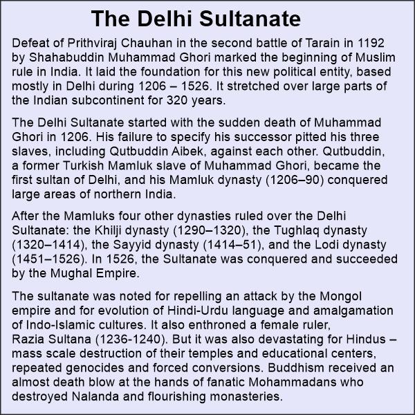 Delhi sultanate