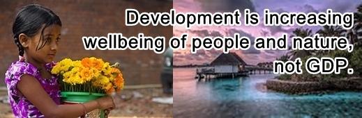 development is wellbeing