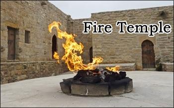 FIRE TEMPLE ateshgah-surakhani-azerbaijana