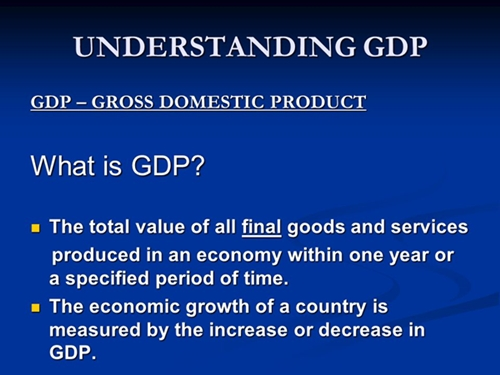 gdp what is 1