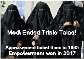 India ends triple talaq