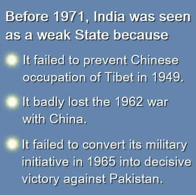 India seen as weak state