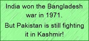 india won Bdesh war in 1971 but