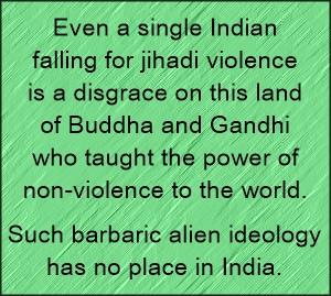 jihadi disgrace to india