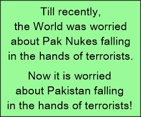 pak falling in hands of terrorists