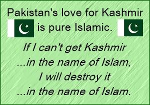 Pak love for Kashmir is Islamic