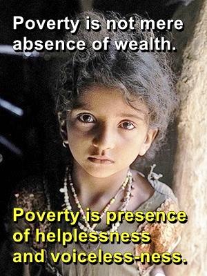 poverty helplessness