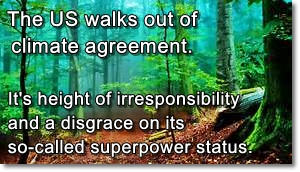 US out of climate deal