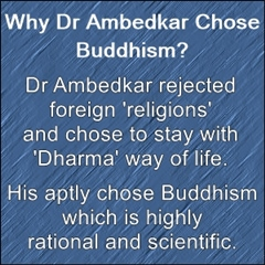 Why Ambedkar chose Buddhism?