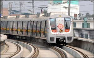 Delhi metro is a sign of modern India