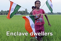 Enclave dwellers at India Bangladesh border became happy