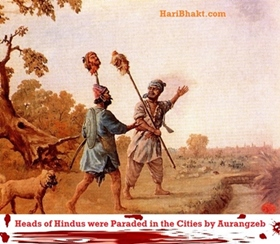 Hindus have faced extreme barbarism at the hands of Islamic savages until 18th century