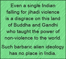 even a single jihadi in India is a disgrace for the country